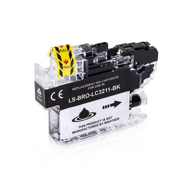 Brother LC-3211BK inktcartridge zwart (huismerk)
