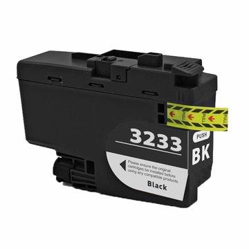 Brother LC-3233BK inktcartridge zwart (huismerk)
