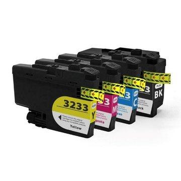 Brother LC-3233 set inktcartridges (huismerk)