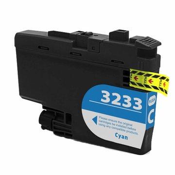 Brother LC-3233C inktcartridge cyaan (huismerk)