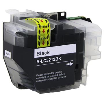 Brother LC-3213BK inktcartridge zwart (huismerk)
