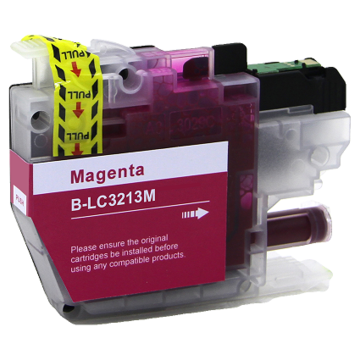 Brother LC-3213M inktcartridge magenta (huismerk)
