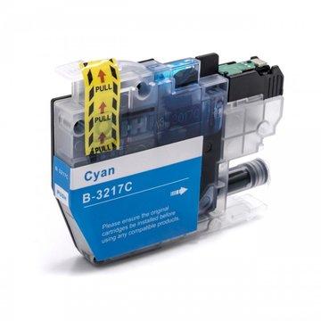 Brother LC-3217C inktcartridge cyaan (huismerk)