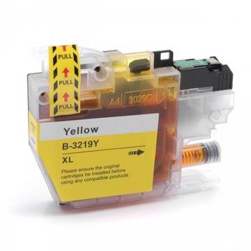 Brother LC-3219XLY inktcartridge geel (huismerk)