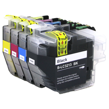 Brother LC-3213 set inktcartridges (huismerk)