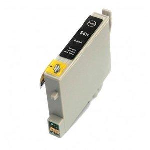 Epson T0611 inktcartridge zwart (huismerk)