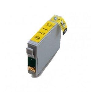 Epson T0714 inktcartridge geel (huismerk)