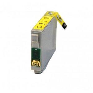 Epson T0804 inktcartridge geel (huismerk)